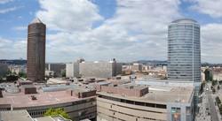 [Panorama du 17e étage du silo]