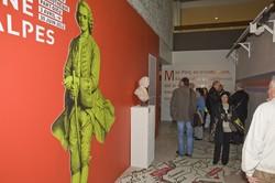 """[Inauguration de l'exposition """"Jean-Jacques Rousseau entre Rhône et Alpes""""]"""