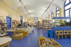 [Vue d'ensemble de l'espace jeunesse de la bibliothèque du 1er arrondissement]