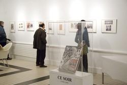 """[Vernissage de l'exposition """"Lyon capitale des outres-mers"""" à la bibliothèque du 1er arrondissement]"""