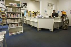 [Bureau d'accueil de la bibliothèque du 6e arrondissement]