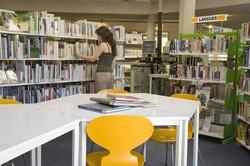 [Salle adulte de la bibliothèque de Saint-Rambert du 9e arrondissement]