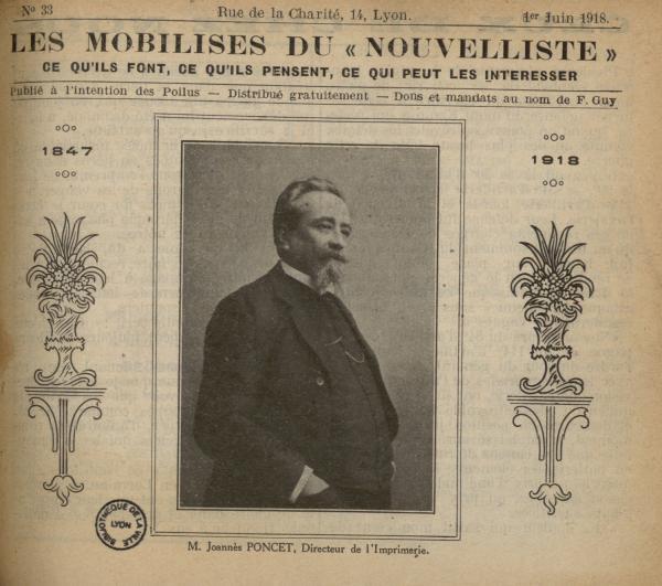 Le s Mobilisés du « Nouvelliste »