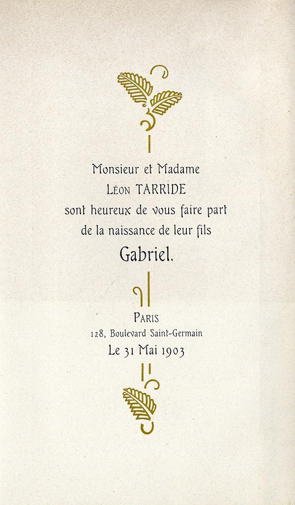 Française. Exemple  n° 1