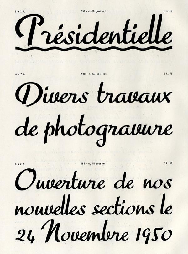 Scribe. Exemple  n° 4