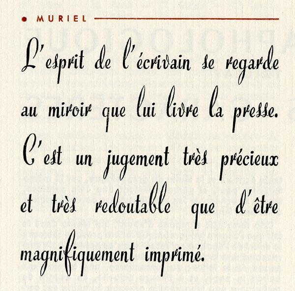 Muriel. Exemple  n° 1
