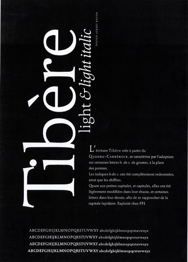 Tibère. Exemple  n° 1