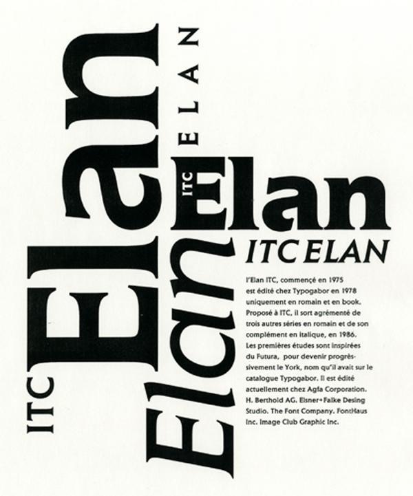 Elan. Exemple  n° 2