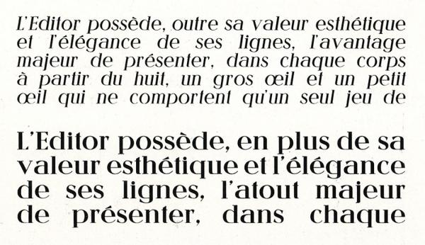 Editor. Exemple  n° 11