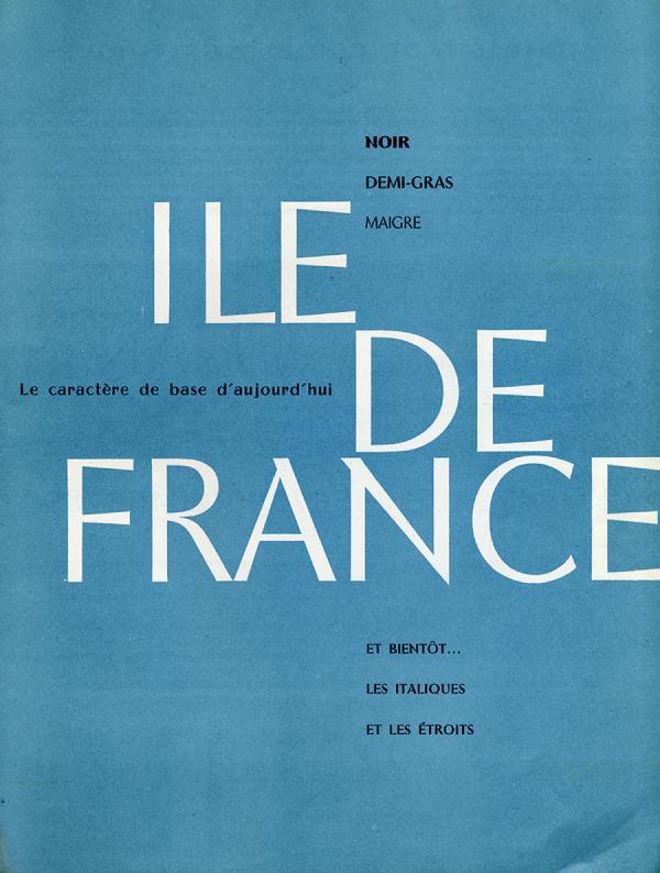 Ile de France. Exemple  n° 1