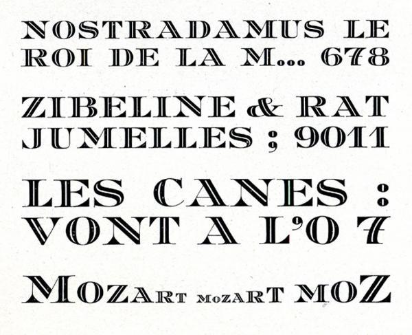 Mozart. Exemple  n° 1