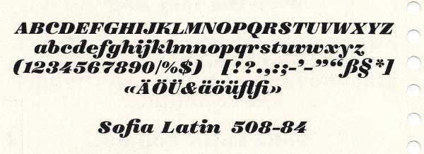Sofia. Exemple  n° 8