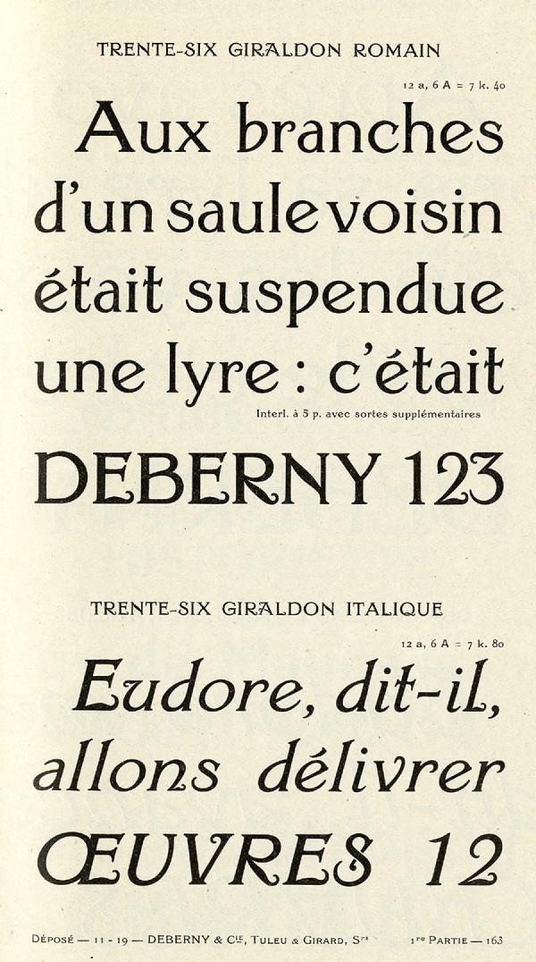 Giraldon. Exemple  n° 8