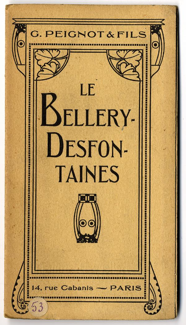 Bellery-Desfontaines. Exemple  n° 5