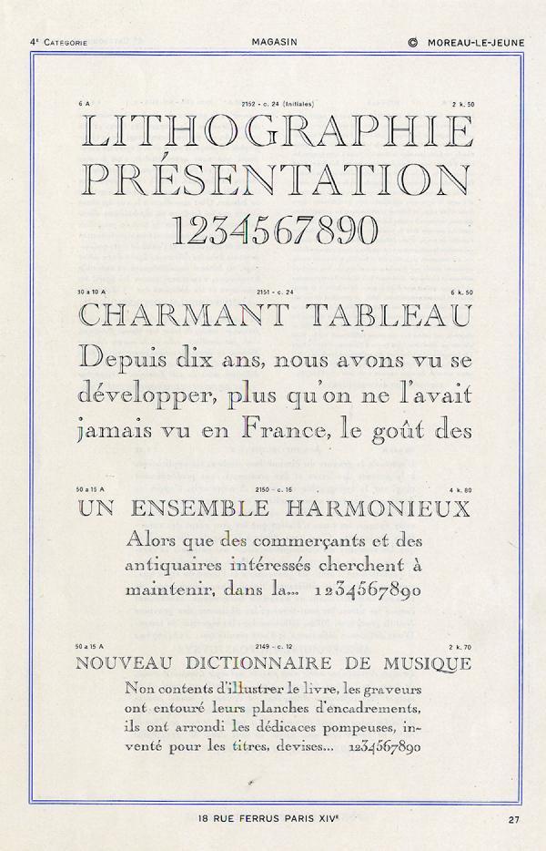Moreau Le Jeune. Exemple  n° 2