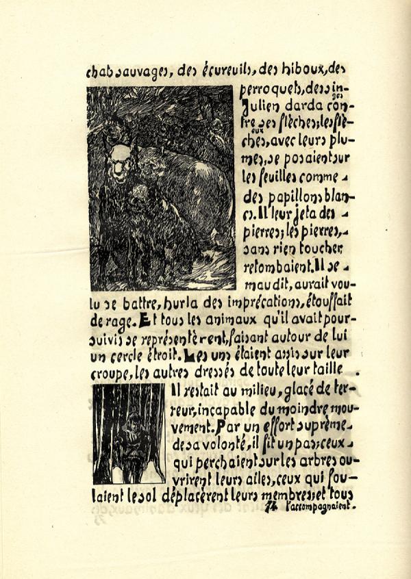 Godien et Flaubert. Exemple  n° 1