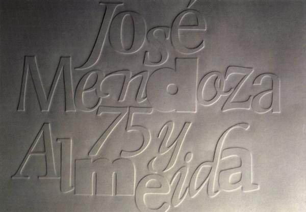 Mendoza/Larcher. Exemple  n° 1
