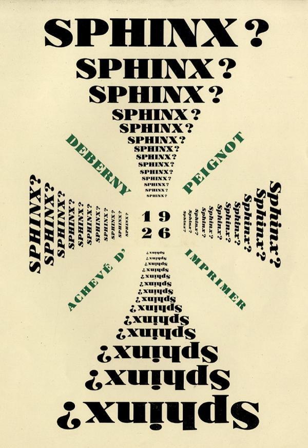 Sphinx. Exemple  n° 4