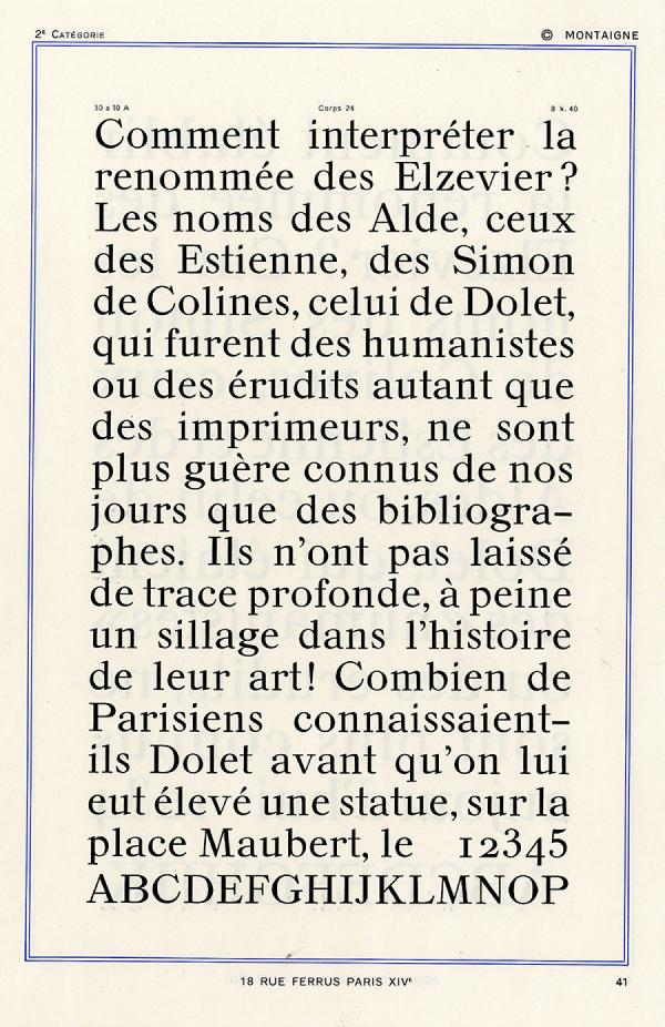 Montaigne. Exemple  n° 2