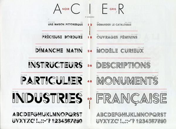 Acier. Exemple  n° 1