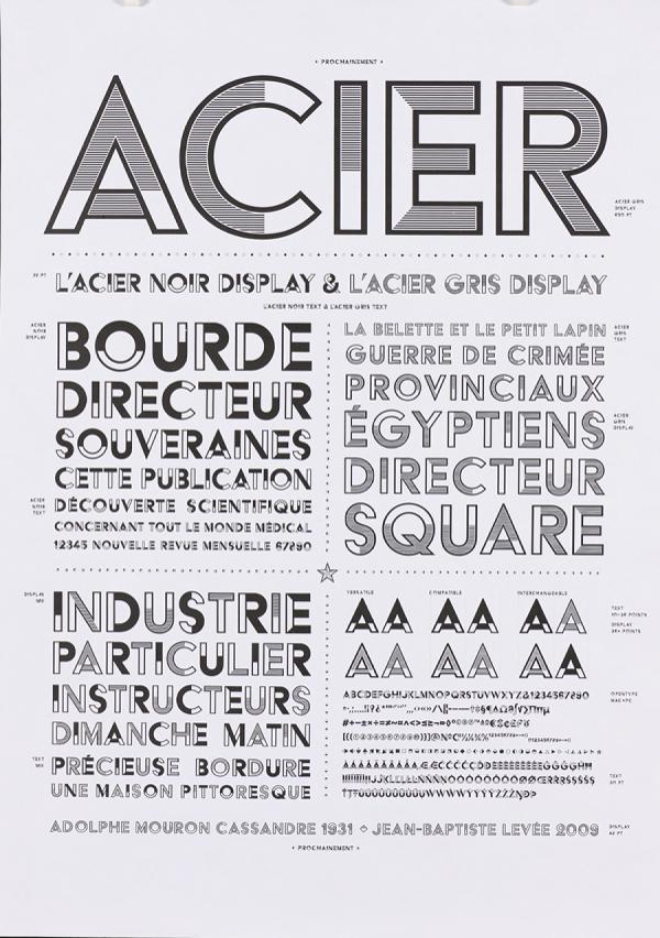 Acier. Exemple  n° 8