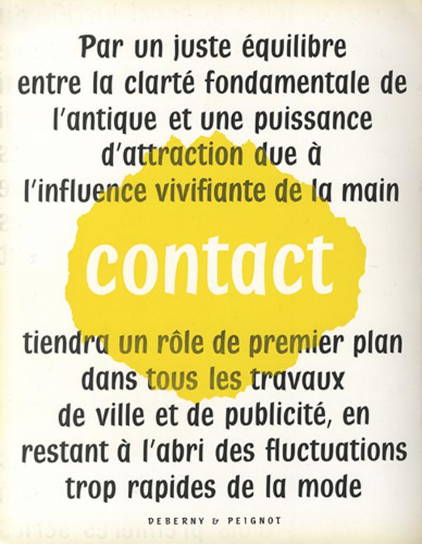 Contact. Exemple  n° 1