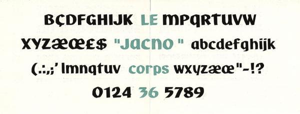 Jacno. Exemple  n° 6