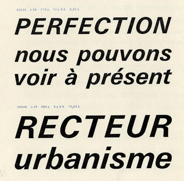 Univers. Exemple  n° 1
