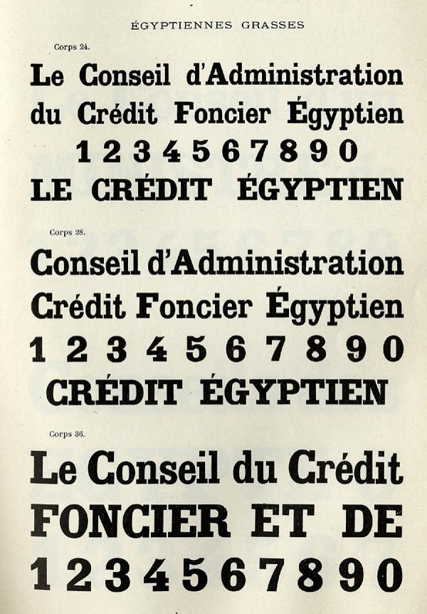 Egyptienne Warnery. Exemple  n° 2