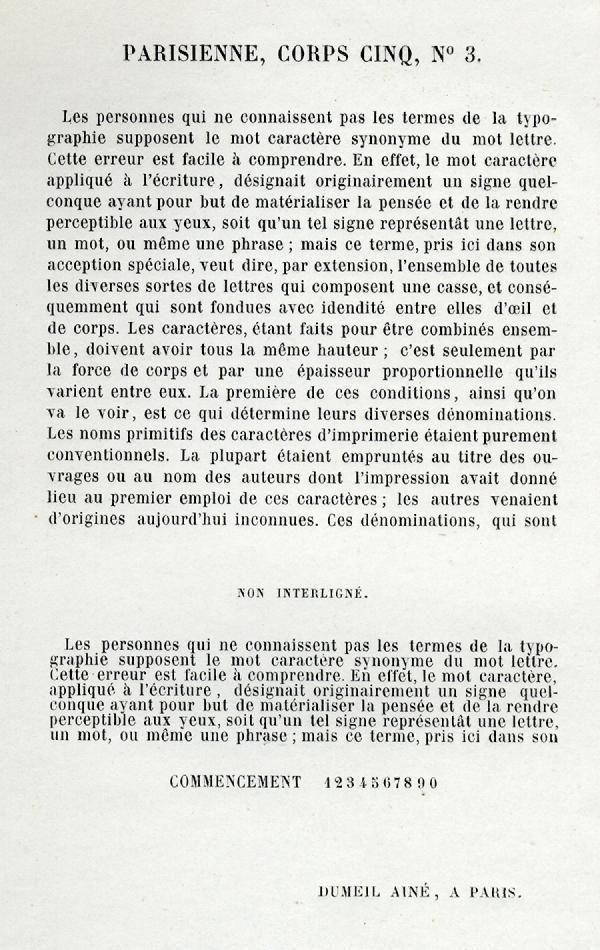 Parisienne. Exemple  n° 2