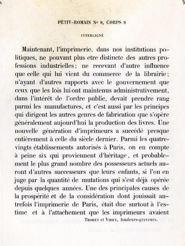 Petit Romain. Exemple  n° 8