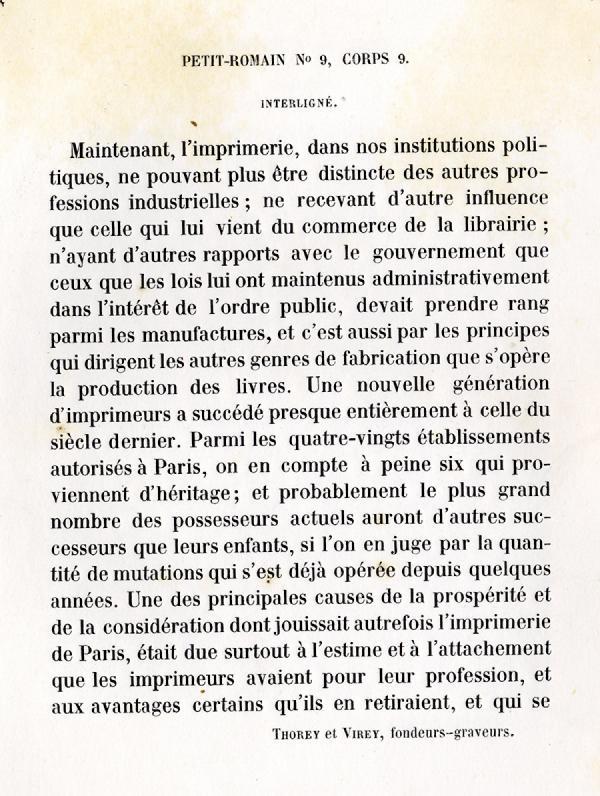 Petit Romain. Exemple  n° 9