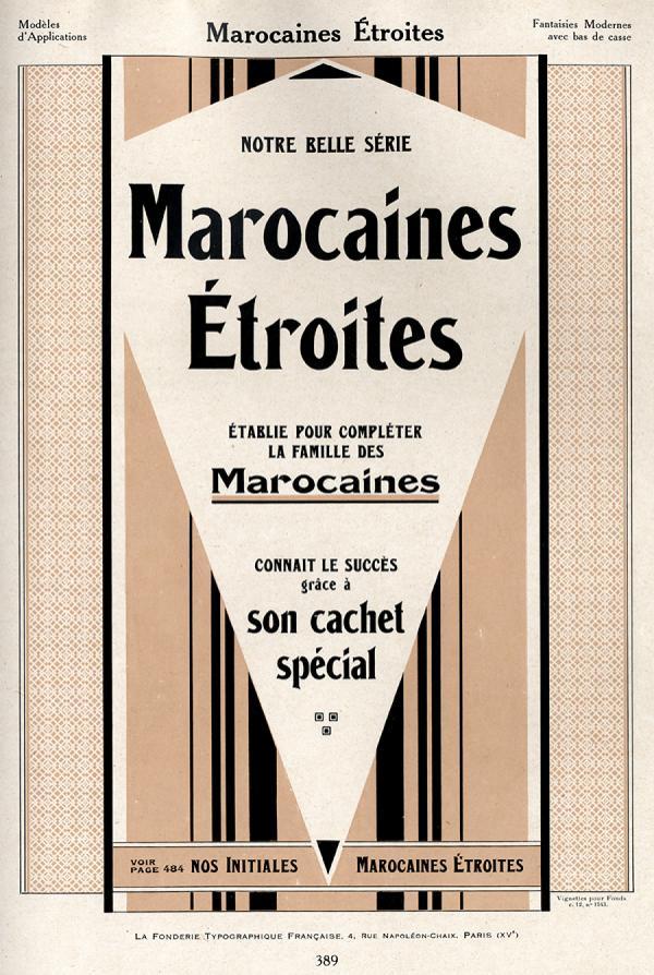 Marocaines FTF. Exemple  n° 4