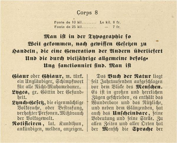 Allemands. Exemple  n° 3