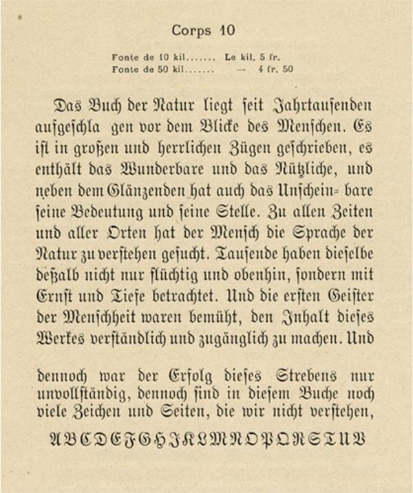 Allemands. Exemple  n° 5