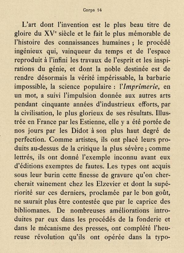 Elzévir Plantin. Exemple  n° 3
