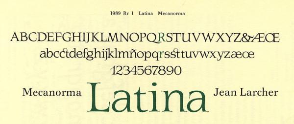 Latina. Exemple  n° 2