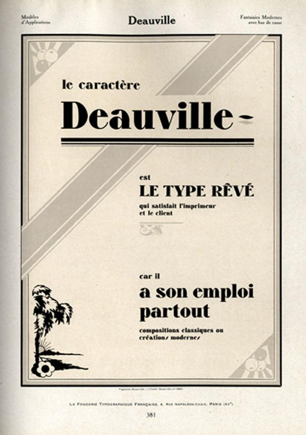 Deauville. Exemple  n° 1