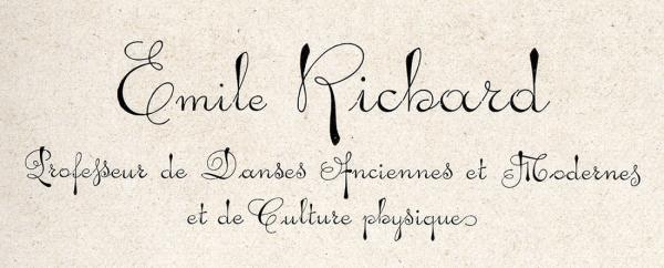 Ecriture parisienne. Exemple  n° 2