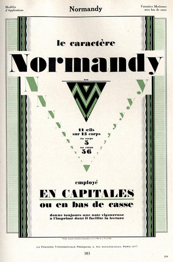 Normandy. Exemple  n° 1