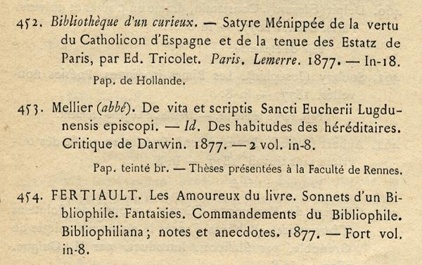 Augustaux. Exemple  n° 3
