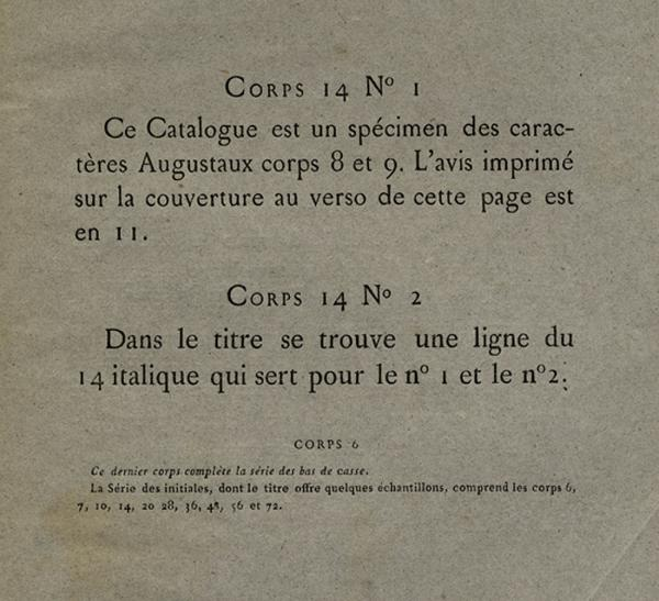 Augustaux. Exemple  n° 4
