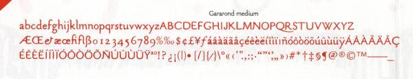 Gararond. Exemple  n° 3