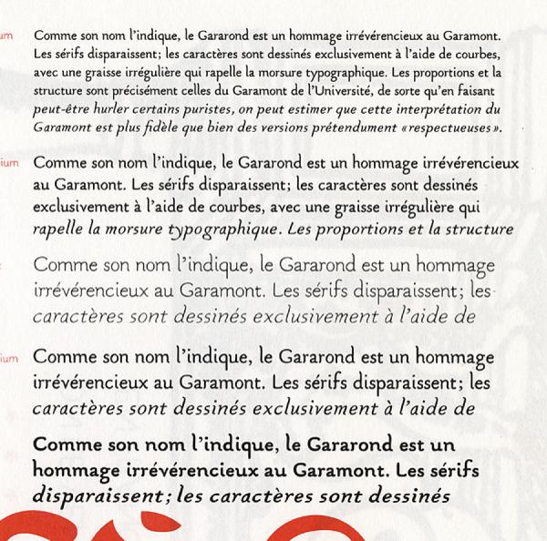 Gararond. Exemple  n° 4
