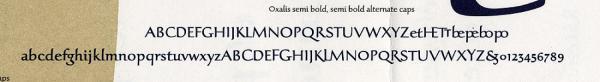 Oxalis. Exemple  n° 8