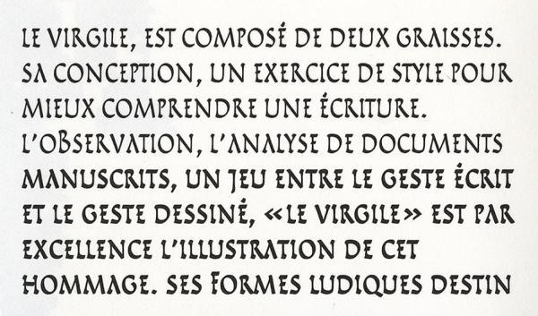 Virgile. Exemple  n° 3