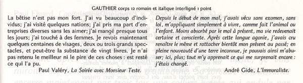 Gauthier. Exemple  n° 4