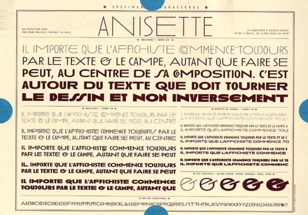 Anisette. Exemple  n° 6