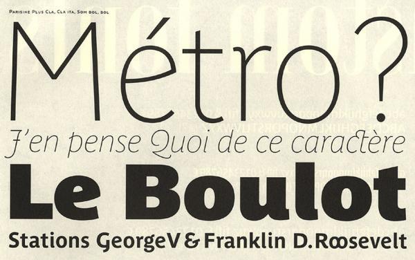 Parisine. Exemple  n° 4
