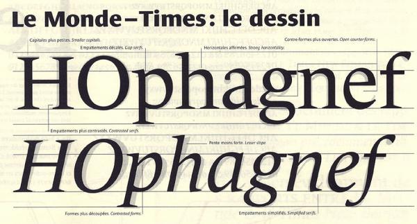 Le Monde. Exemple  n° 1